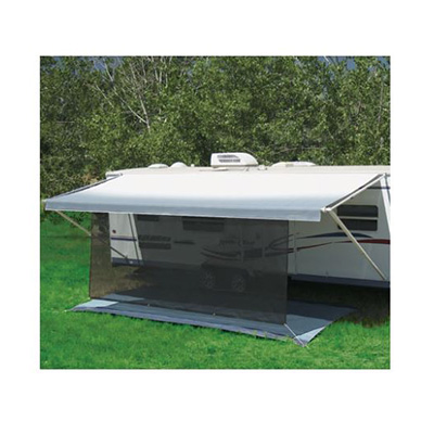 Awning Sun Block Panel - Carefree SunBlocker 10'W x 6'H - Black