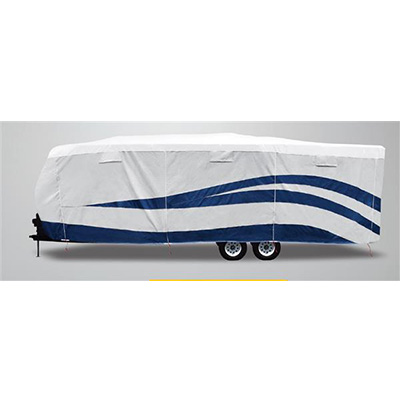 Travel Trailer Cover - UV Hydro Designer Series All Season Cover - 15'1