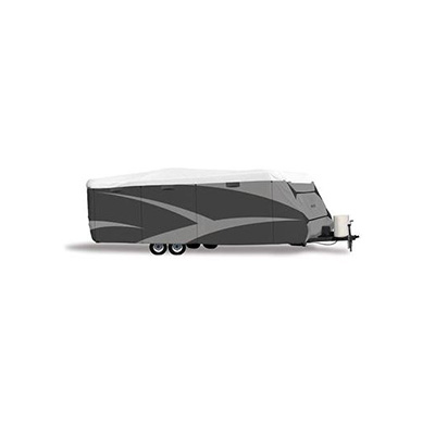 """Travel Trailer Covers - ADCO Olefin HD Designer Series Travel Trailer Cover 28'1"""" To 31'"""