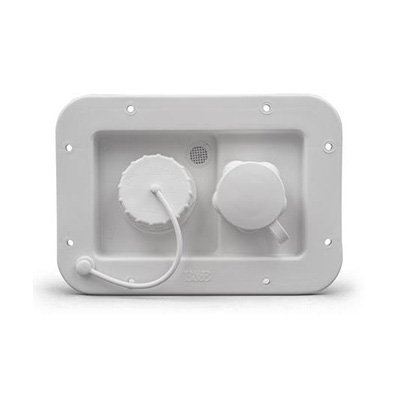 Water Inlets - Thetford City & Gravity Water Inlet - White